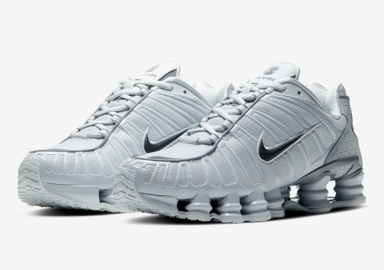 """The Nike Shox TL Is Coming Soon In """"Pure Platinum"""""""