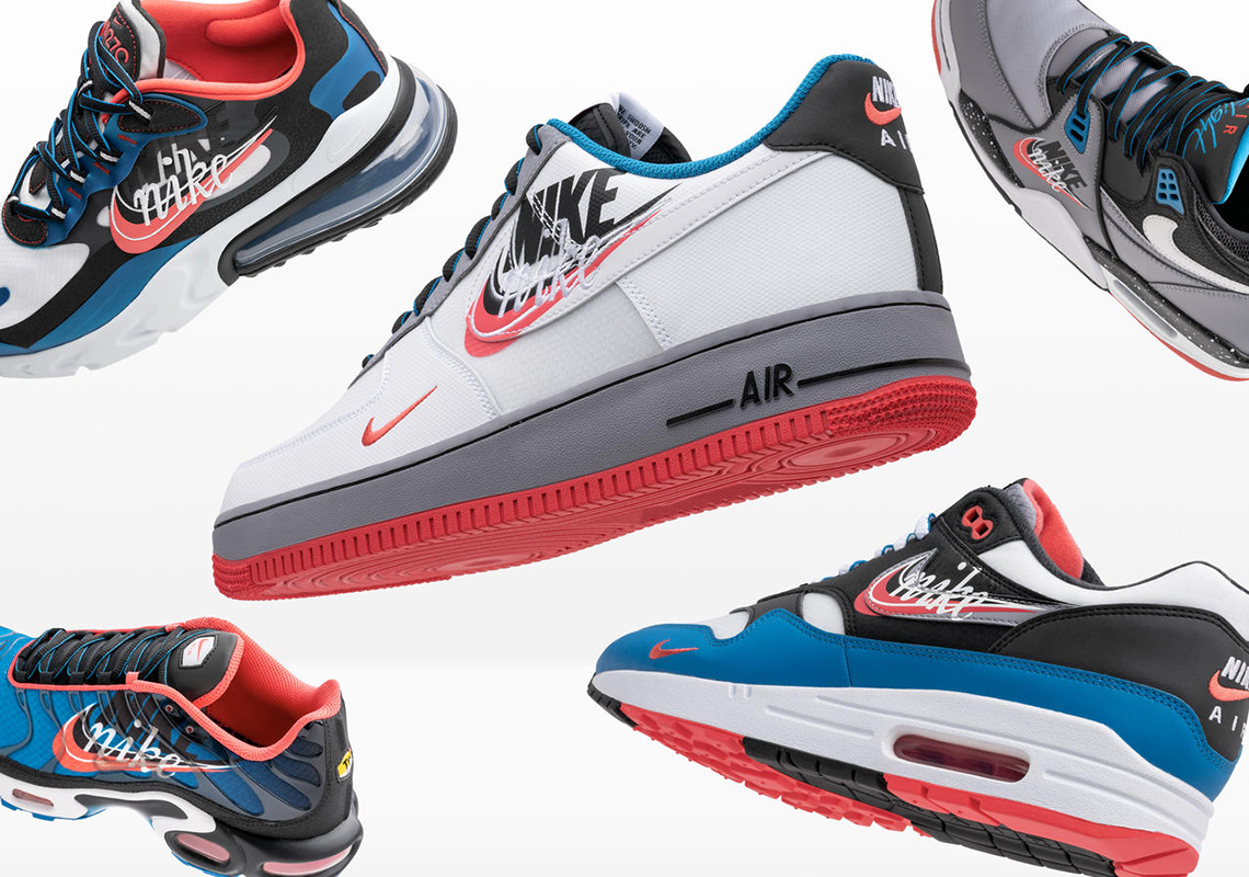 Nike Air Force 1 Time Capsule Pack Release Info