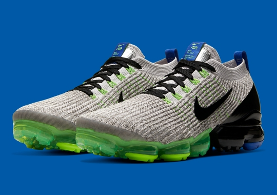 The Nike Vapormax 3.0 Appears With Volt and Photo Blue Accents