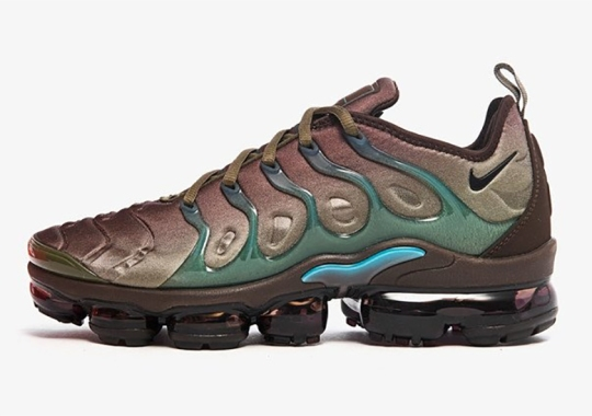 This Street-Ready Nike Vapormax Plus Gets A Colorway Fit For The Wilderness