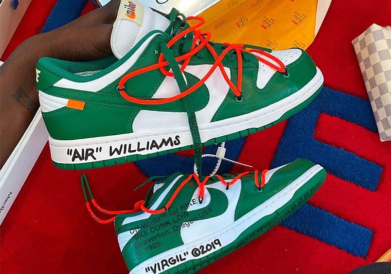 Off-White Nike Dunk Pine Green CT0856-100 | SneakerNews.com