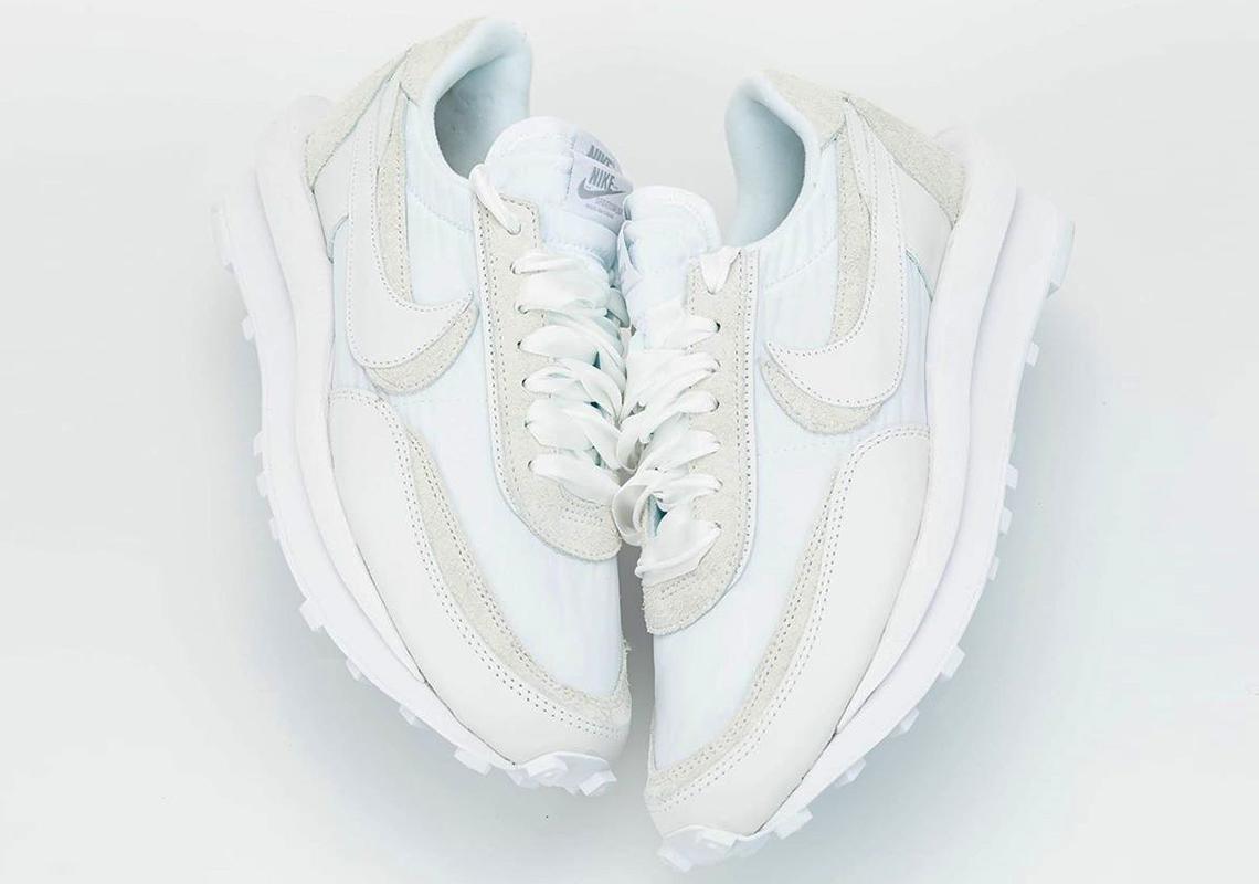 sacai Nike LDWaffle White Nylon BV0073 101 Release Info