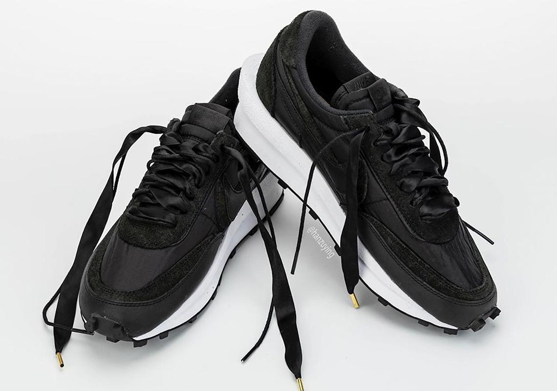 sacai Nike LD Waffle Black White BV0073