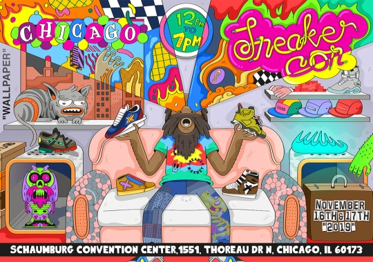 Sneaker Con Heads To The Mid-West For a Two-Day Show in Chicago