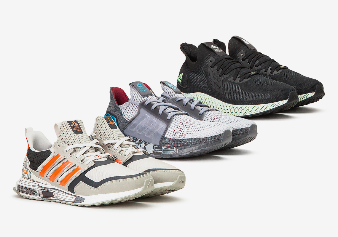 Star Wars adidas Ultra Boost + Alphaedge 4D Store List