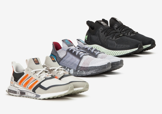 Three Iconic Star Wars Ships Get Immortalized In Upcoming adidas Running Collection