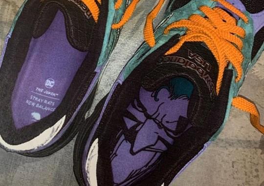 Stray Rats Teases A Look At Upcoming Joker Inspired New Balance 990v3