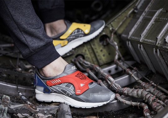 Transformers Gives Robotic Upgrades To The ASICS GEL-Lyte V
