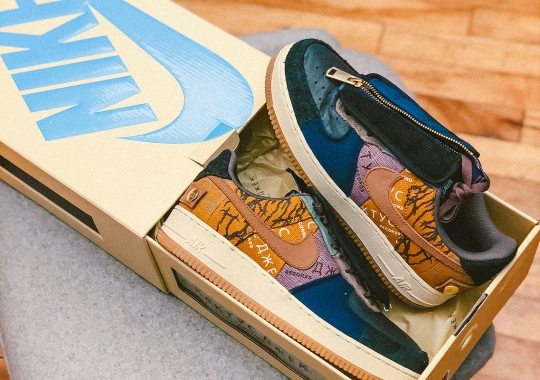 "Travis Scott's Nike Air Force 1 Low To Include ""Cactus Jack"" Shoebox"