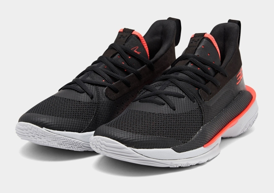 The Newly Launched UA Curry 7 Emerges In Black And Red
