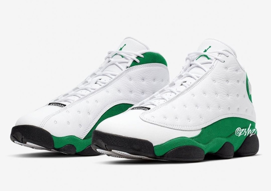 "Air Jordan 13 ""Celtics"" Scheduled For A July 2020 Release"