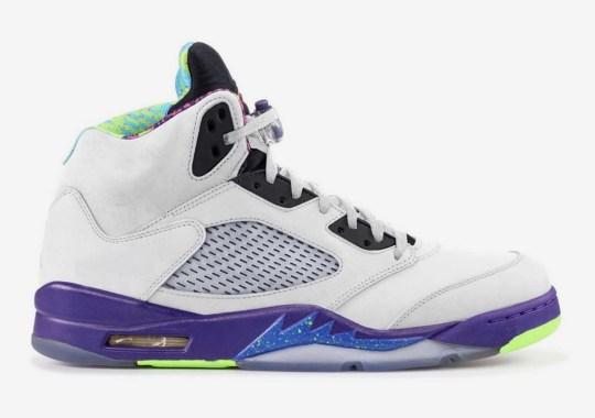 "The Air Jordan 5 ""Bel-Air"" Set To Return In An Alternate White Colorway"