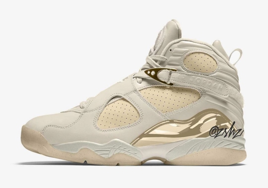 "The Air Jordan 8 ""Cream"" Is Set To Release In Summer 2020"