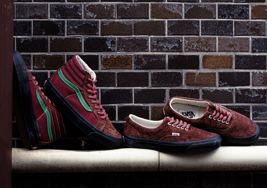 BILLY'S TOKYO Offers Up Holiday-Appropriate Vans Exclusives