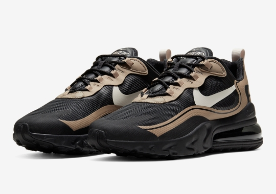 """Nike Expands Its """"Just Do It"""" Range With Black And Tan Air Max 270 Reacts"""