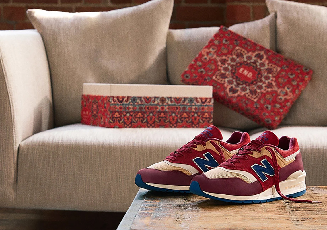 End New Balance 997 Persian Rug Release Date Sneakernews Com