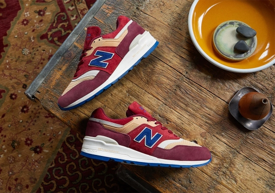 END Lays Out A Persian Rug On The New Balance 997