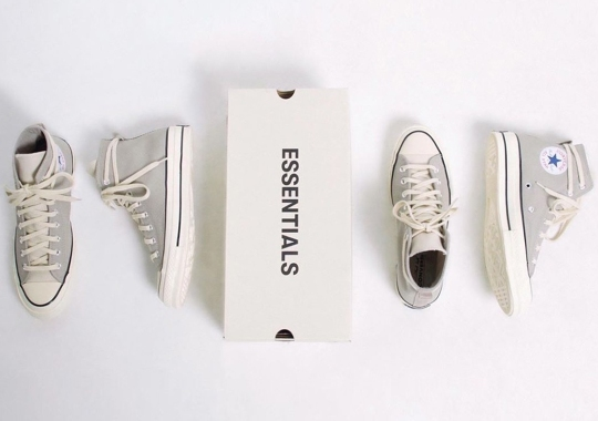 Fear Of God ESSENTIALS Crafts A Minimal Converse Chuck 70 In Time For The Holiday Season