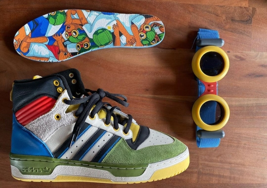 Hebru Brantley Reveals Art Basel Exclusive adidas Rivalry Hi Collaboration
