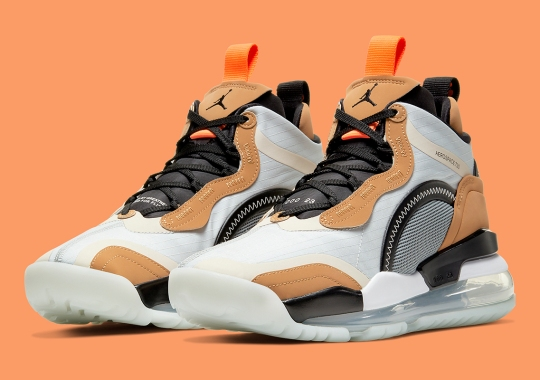 "The Futuristic Jordan Aerospace 720 Adorns ""Rookie Of The Year"" Color Themes"
