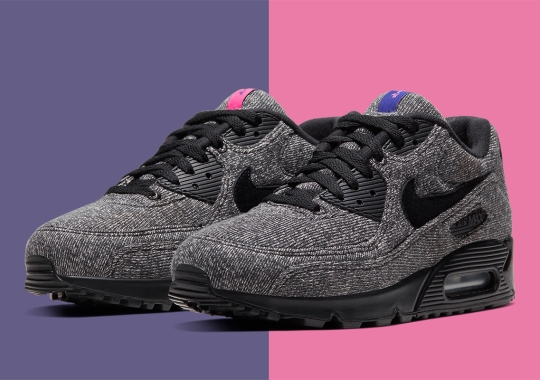Official Images Of The Loopwheeler x Nike Air Max 90