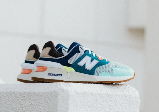 The New Balance 997S Arrives In Spring-Ready Teal And Brown