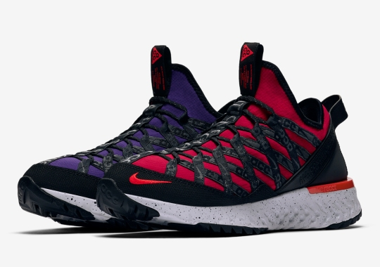 The Nike ACG Terra Gobe Alternates Purple And Red Uppers