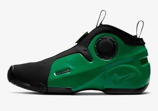 The Nike Air Flightposite 2 Arrives in Electric Green