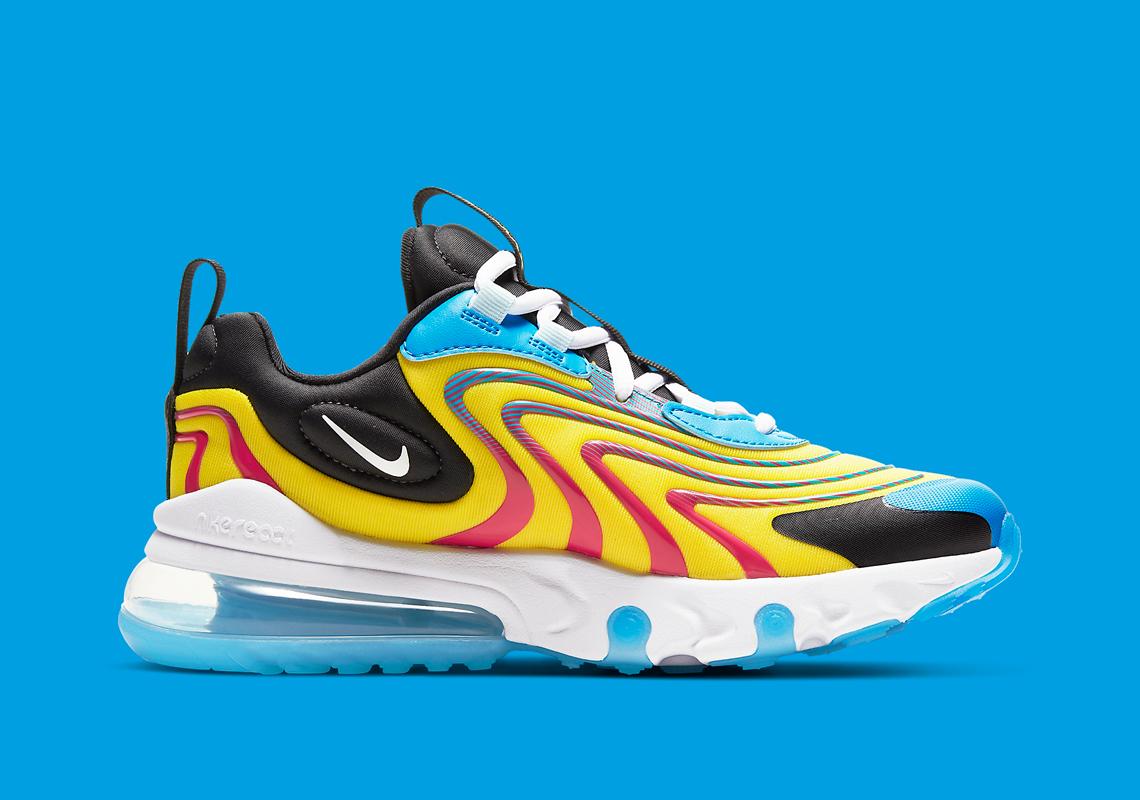 Nike Air Max 270 React CD6870 700 CD6870 600 |