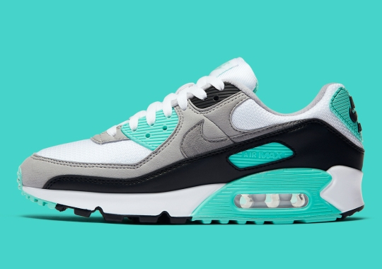 "The Nike Air Max 90 ""Turquoise"" Arrives Soon"