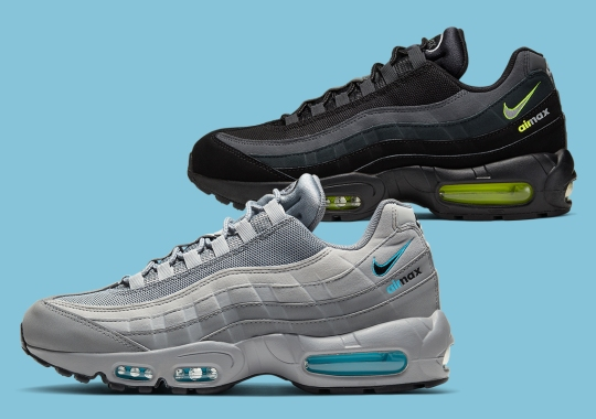 "Nike Features Locked ""Air Max"" Logo From The 95 Beneath The Swoosh"