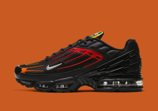 "Take A Closer Look At The Nike Air Max Plus 3 ""Blood Orange"""