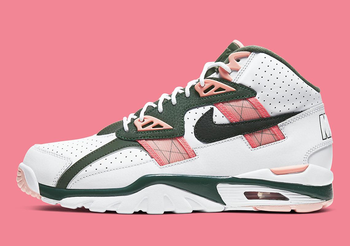 Nike Air Trainer SC Pink Green CU6672