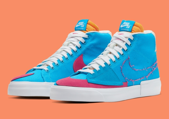 "More Colorways Of The Nike SB Blazer Mid Edge ""Hack Pack"" Have Surfaced"