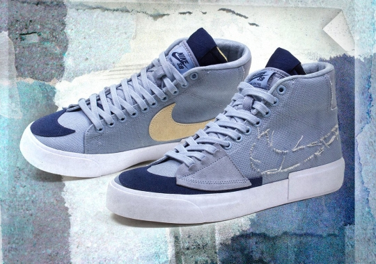 "Skate Shops Are Starting To Receive The Nike SB Blazer Mid Edge ""Hack Pack"""