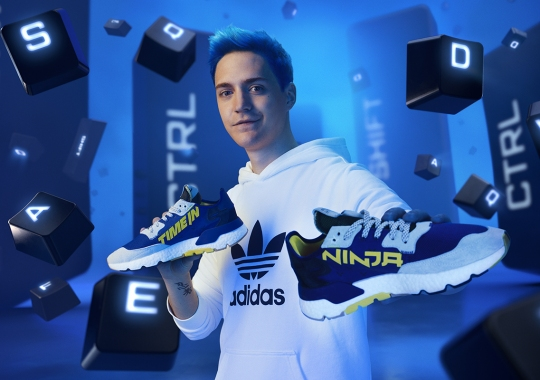 "Ninja And adidas Are Releasing The Nite Jogger ""Time In"" On December 31st"