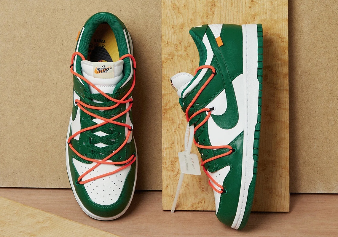 Off-White Nike Dunk Low Green CT0856