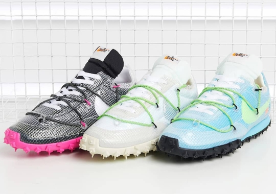 Where To Buy The Off-White x Nike Waffle Racer SP