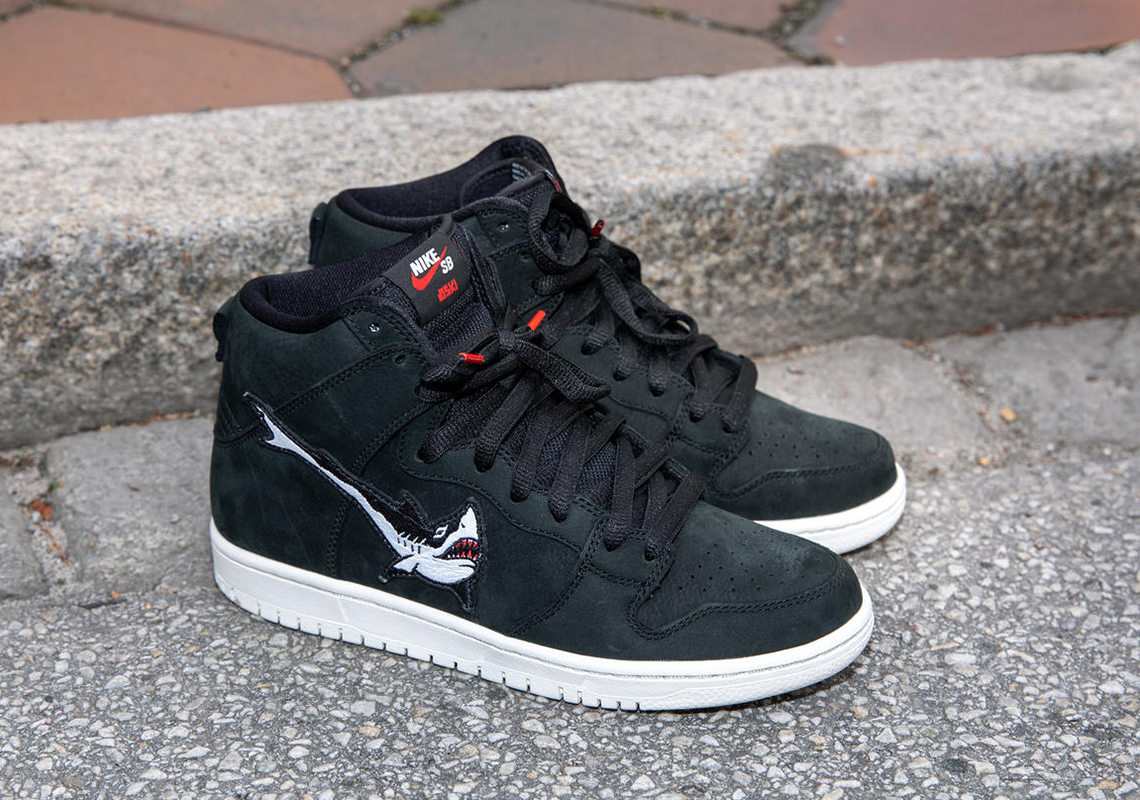 Oski Nike SB Dunk High Blazer Mid Release Date | SneakerNews.com