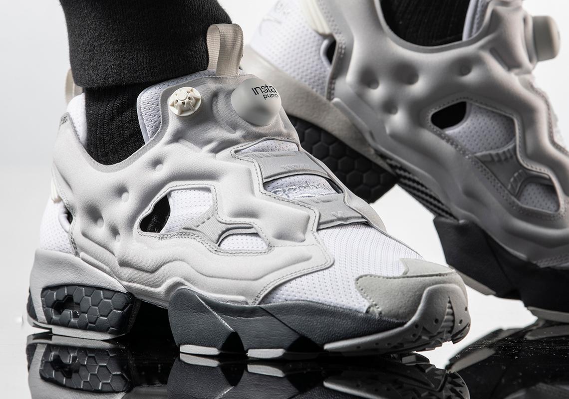 Mal uso Llorar ~ lado  Reebok InstaPump Fury White Grey | SneakerNews.com