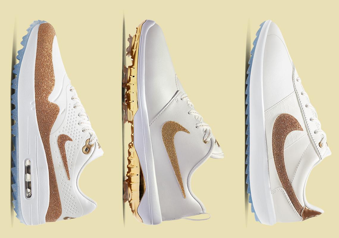 Swarovski Nike Golf Air Max 1 Roshe Cortez Release Info | SneakerNews.com