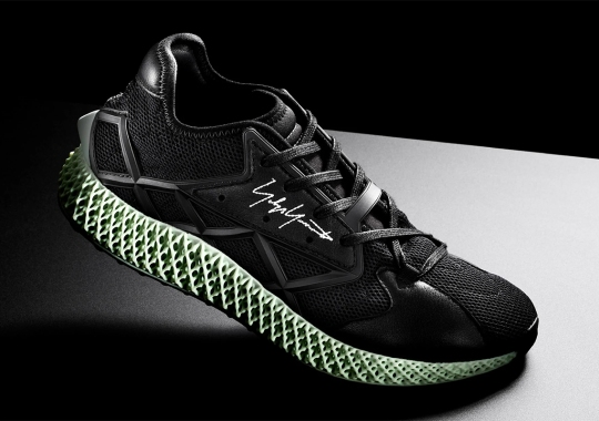adidas Y-3 Unveils Their Latest Runner 4D In All Black