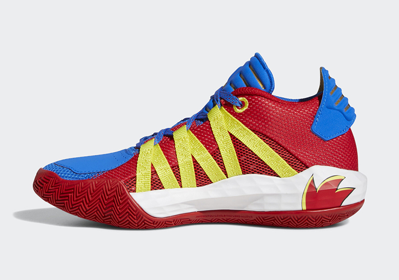 Adidas Dame 6 Chasing Rings Sonic Release Date Sneakernews Com