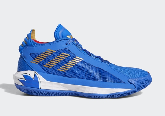 Sonic The Hedgehog And Damian Lillard Continue The Ring Chase With Upcoming adidas Collaboration