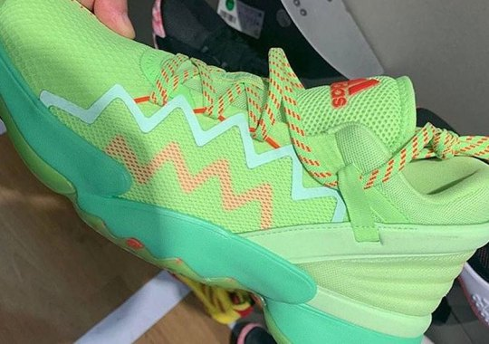 Donovan Mitchell's Next adidas Signature Shoe To Include Crayola Collaboration And More