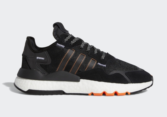 The adidas Nite Jogger Is Arriving Soon In Black And Solar Orange