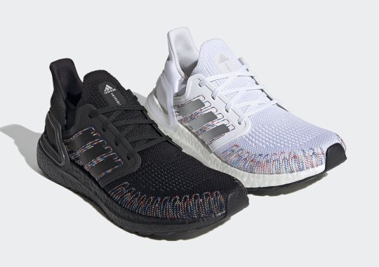 adidas Adds Multi-colored Threading To The Ultra Boost 20