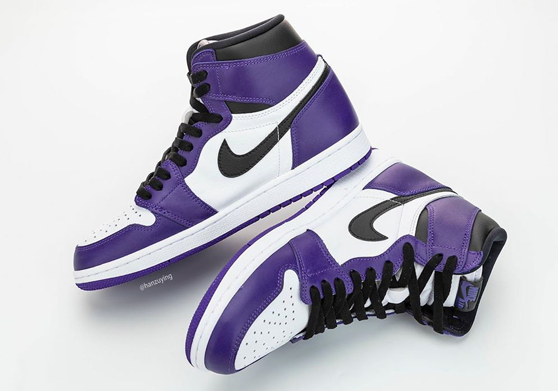 Air Jordan 1 High Court Purple 555088 500 Sneakernews Com