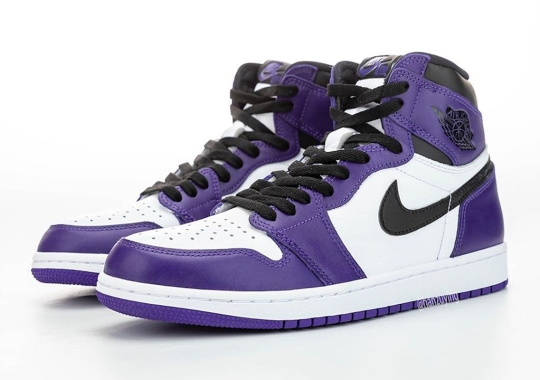 "The Air Jordan 1 Retro High OG ""Court Purple"" Is Releasing In April 2020"