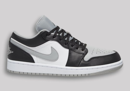 """The Air Jordan 1 Low Takes A Spin In The OG """"Shadow"""" Colors"""